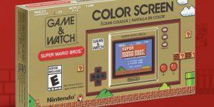 Nintendo está relanzando al clásico Game & Watch para el 35 aniversario de Super Mario Bros., completo con decenas de referencias para los fans
