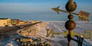 El hielo de invierno en el mar de Bering cayó a mínimos que no se veían hace miles de años