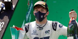 Pierre Gasly consigue su primera victoria en la F1 tras ganar el GP de Italia