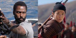 """""""Tenet"""" vs """"Mulán"""": el duelo con el que Hollywood definirá el futuro de los estrenos cinematográficos"""