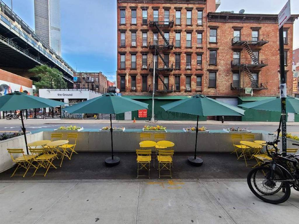 comer al aire libre restaurantes