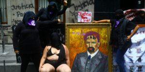 Por qué colectivas feministas tomaron las oficinas de la CNDH