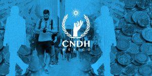 AMLO quiere reducir el presupuesto de la CNDH  para atender a víctimas y desaparecidos