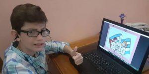 Un niño de 12 años diseñó un videojuego que recrea la posible vacuna de Cuba contra el Covid-19