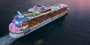 Royal Caribbean está construyendo el crucero más grande del mundo, a pesar de la pandemia del coronavirus —así se ve el Wonder of the Seas