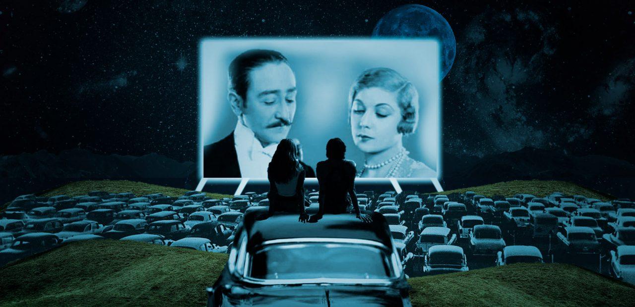 primera película autocinema