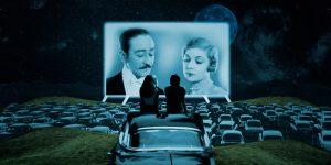 Esta es la primera película que se proyectó en un autocinema