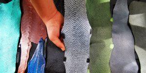 La piel de pescado se pone a la moda: cada vez más gigantes de la industria apuestan por estos accesorios