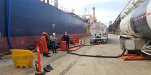 México captura a un barco que se dedicaba al huachicol en la costa del Golfo