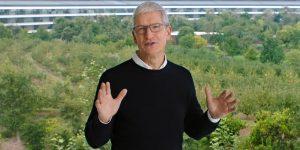 Tim Cook dijo que partes del modelo de trabajo a distancia de Apple se quedarán para siempre en la cultura empresarial