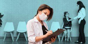 El sector servicios no logra recuperarse en la era Covid-19 y eso afecta el regreso de las mujeres al mercado laboral