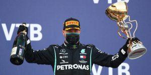 Valtteri Bottas gana GP de Rusia y deja a Lewis Hamilton sin la oportunidad de igualar el récord de Michael Schumacher