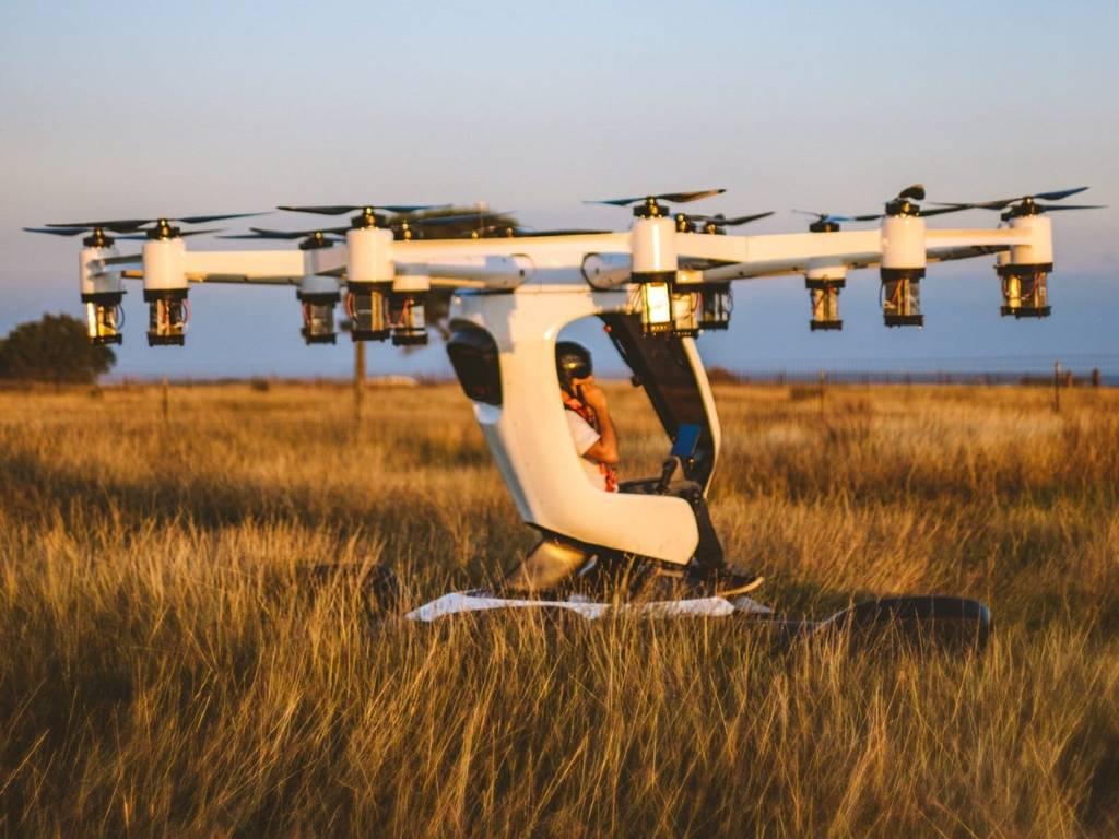 vehículos voladores