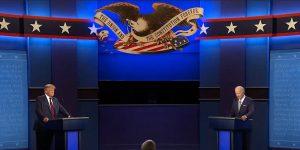 Tras debate presidencial, Wall Street reacciona con temor ante la posible impugnación de las elecciones en EU