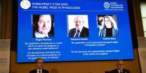Nobel de Física se otorga a tres científicos por sus descubrimientos acerca de los agujeros negros
