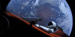 El Tesla Roadster lanzado por SpaceX hizo su primer acercamiento a Marte