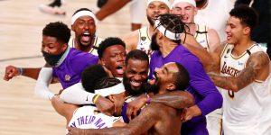 Los Lakers son campeones de la temporada más surrealista de la historia, exactamente 7 meses después de que la NBA paró en seco