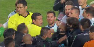 «La c—– de tu madre», así arremete Lionel Messi contra entrenador físico de selección de Bolivia tras partido