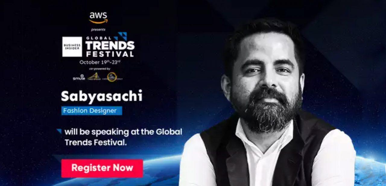 Sabyasachi | Global Trends Festival 2020 | Business Insider México