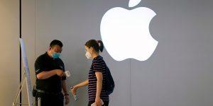 Apple expande formato tiendas «express» antes de fiestas fin de año