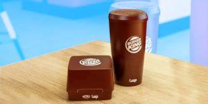 Burger King desarrolló envases reutilizables para Whoppers y bebidas —los ofrecerá a algunos clientes el próximo año