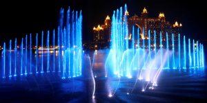 10 fotos para admirar la fuente más grande del mundo que está en Dubái