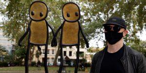 Autoridades londinenses informaron del robo de obras donadas por el artista callejero STIK