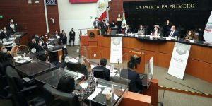 La  lista de senadores contagiados de Covid-19, tras sesión en sede alterna de Xicoténcatl