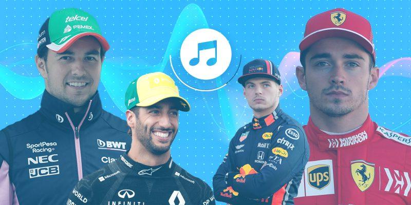 """7 playlists creadas por pilotos de la F1 —incluyendo a Sergio """"Checo"""" Pérez"""