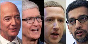 Amazon, Apple, Facebook y Google superaron las estimaciones de Wall Street en sus informes de ganancias del tercer trimestre.