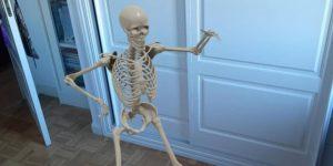 Así puedes usar Google para 'invocar' fantasmas y esqueletos para celebrar Halloween