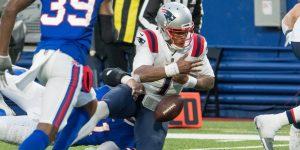Los Patriots alcanzan su racha de derrotas consecutivas más larga en 18 años tras este error de Cam Newton