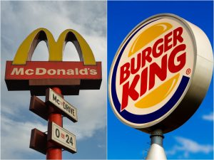 'Order from McDonald's': Burger King urges UK customers to support its rivals ahead of a second COVID-19 lockdown