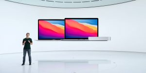 Apple presentó a la nueva línea de computadoras Mac que utilizarán al microprocesador M1 de la compañía
