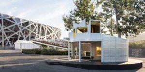 BMW entra al mundo del diseño y crea estas diminutas casas de lujo para vivir en la ciudad: así son por dentro
