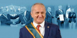 Jesús Seade, negociador del TMEC, recibe condecoración y se retira temporalmente de la vida pública
