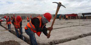 La construcción va en  sentido opuesto a la recuperación económica —propicia estancamiento de la producción industrial