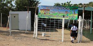 Los Hijos de Joaquín «El Chapo» Guzmán montan una escuela improvisada en una comunidad de Sinaloa