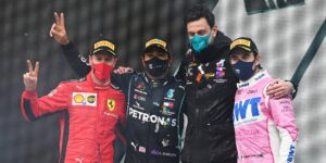"""Lewis Hamilton se corona heptacampeón de la F1 en el GP de Turquía —Sergio """"Checo"""" Pérez logra el 2º lugar"""