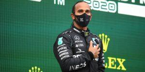 """Lewis Hamilton dice que no merece el título de caballero de la Orden del Imperio Británico porque no es un """"héroe"""""""