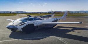 AirCar, el auto volador que ya es una realidad y superó su primer vuelo