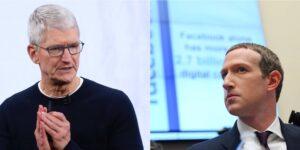 Apple y Facebook se están peleando sobre quién explota más los datos del usuario
