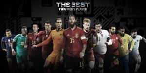 Estos son los nominados y nominadas a los premios The Best 2020 de la FIFA