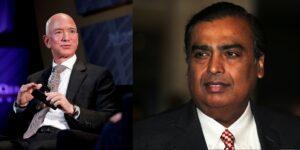 Jeff Bezos y el empresario Mukesh Ambani se disputan el mercado de distribución de mercancías en India