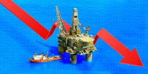 La renta petrolera ha caído prácticamente a la mitad ante la caída en la demanda de hidrocarburos