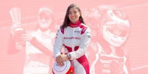 Tatiana Calderón: el futuro de las mujeres en el automovilismo, un deporte que todavía es dominado por los hombres