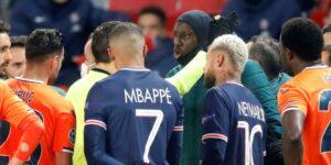 El partido PSG vs Istanbul se suspende por presuntos insultos racistas de un árbitro