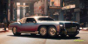 Cómo Cyberpunk 2077 usó la influencia del mundo real para diseñar una gran cantidad de autos únicos para el juego