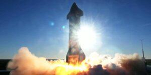 SpaceX acaba de lanzar, y explotar, un cohete Starship experimental en Texas