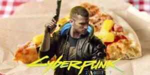 Ponerle piña a la pizza podría convertirte en un criminal de por vida en 'Cyberpunk 2077'